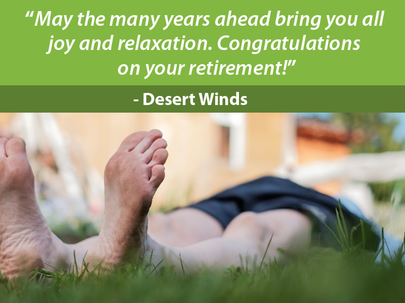 What to Write in a Retirement Card for Family Member